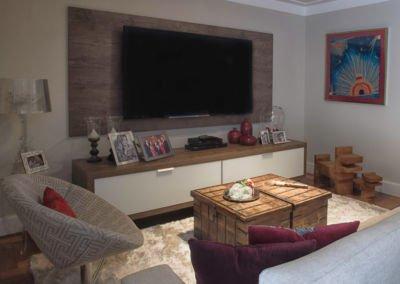 Cozy TV Room Interior Design