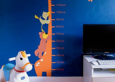 Kid Room Accent Wall Interior Design