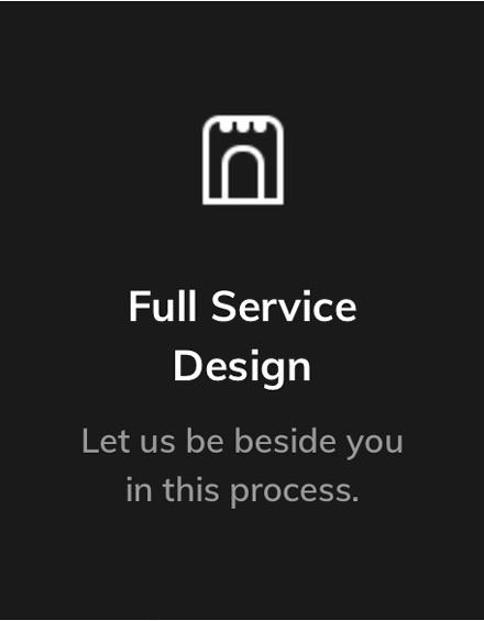 widget Full service Design Button