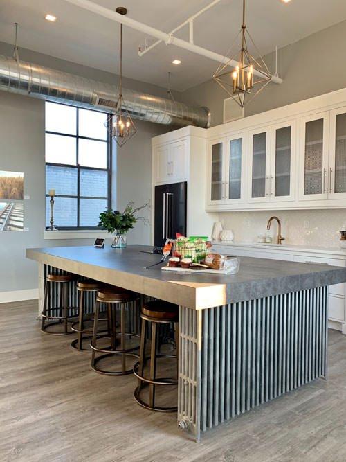 open spaces kitchen