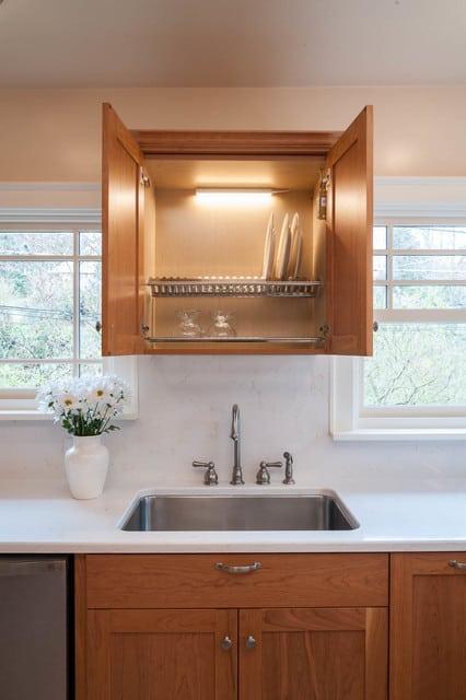 dish drying cabinet
