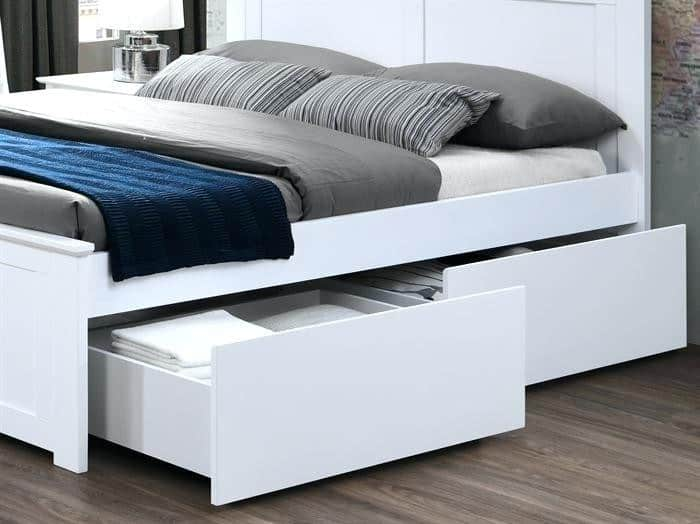 queen size bed frame with storage coco white queen bed with 2 x storage drawers hardwood frame queen size bed frame with storage plans
