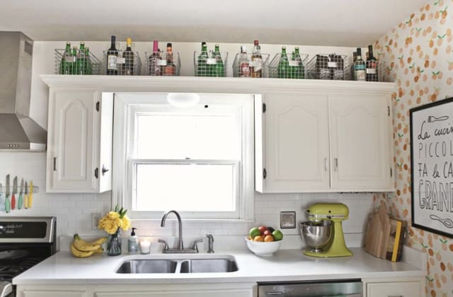 top cabinet usage