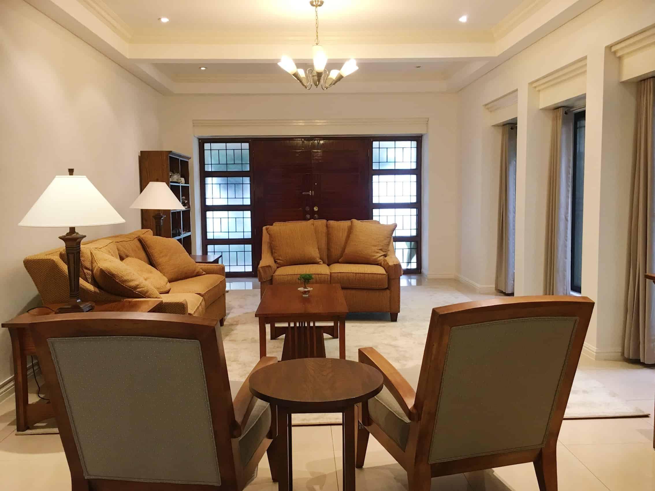 Living Room Home Manila 1