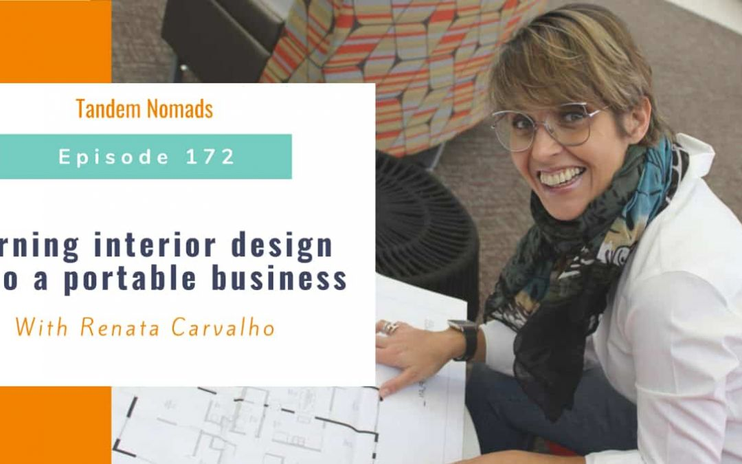 When design goes online: An Interview for the Tandem Nomads Podcast